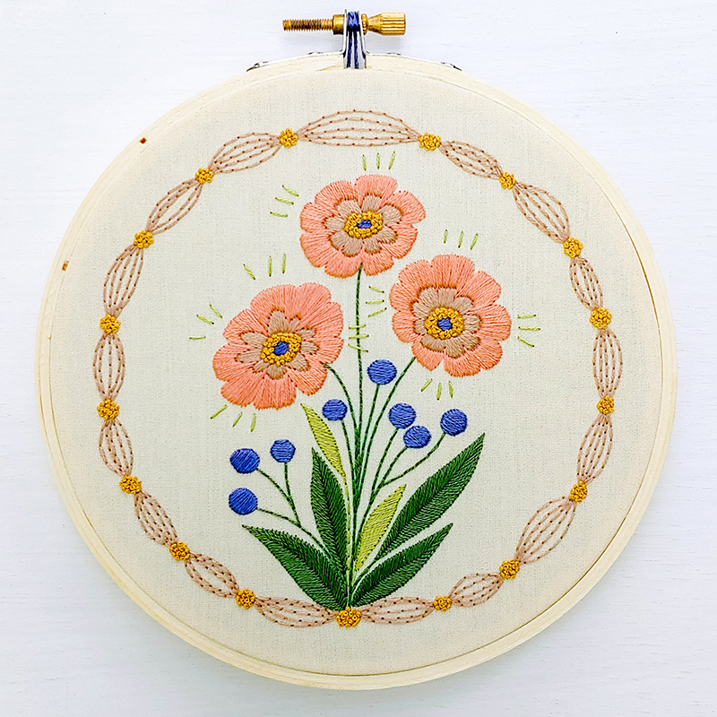 Embroidery Kit True Bloom