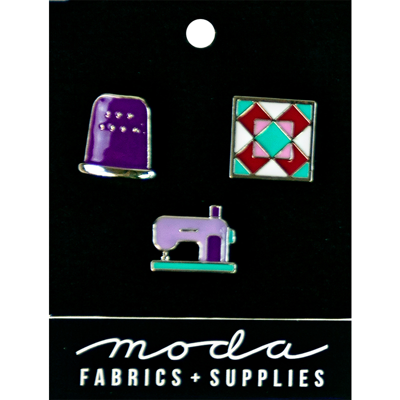 Enamel Pins Notions 3ct Purple