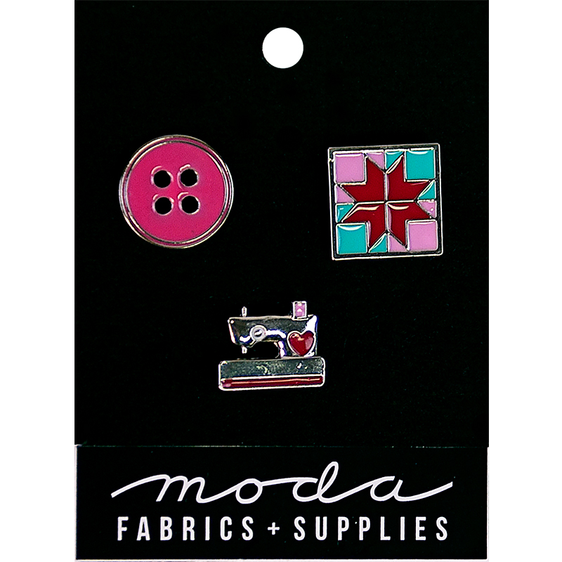 Enamel Pins Notions 3ct Pink