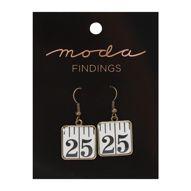 Earrings Tape Measure