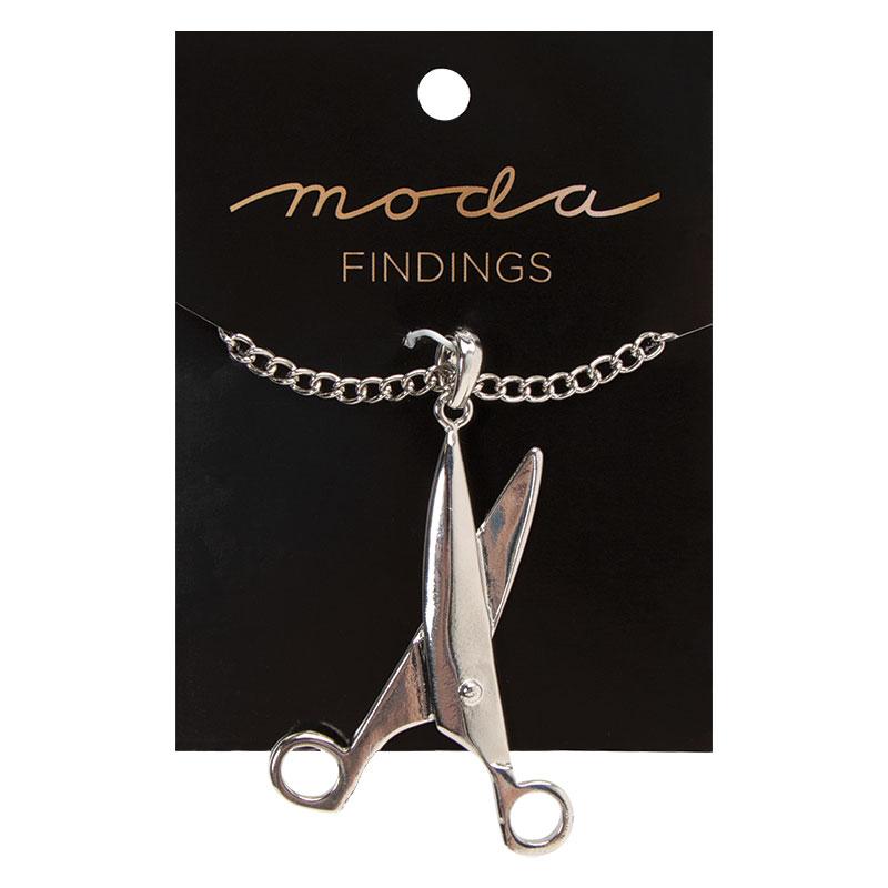 Moda Findings / Scissors Necklace