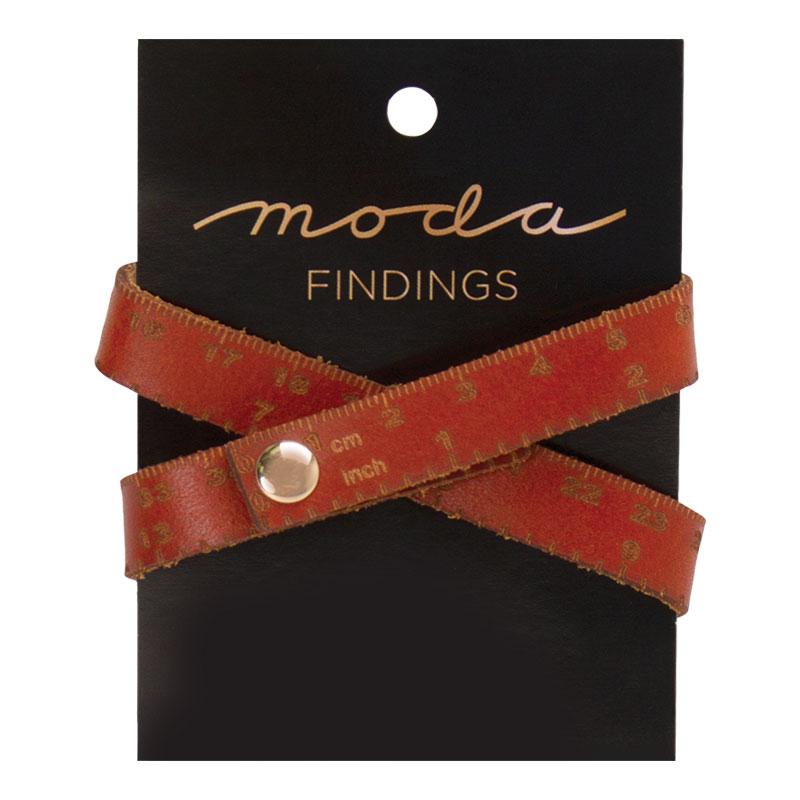 Leather Tape Measure Bracelet