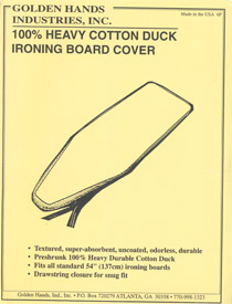Golden Hands Ironing Board Cover 54