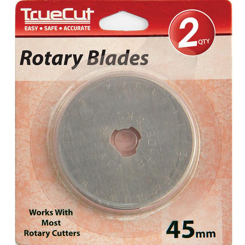 TrueCut Rotary Blade 45mm 2ct