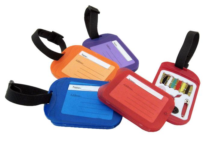 Luggage Tag With Sewing Kit