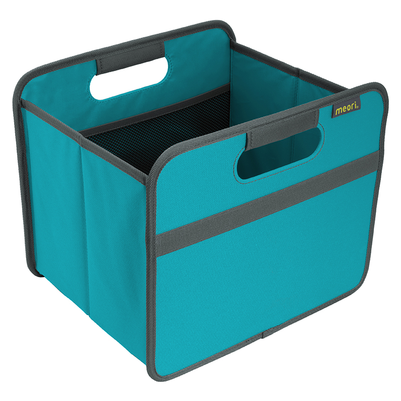 Foldable Box Small Azure Blue   A100058