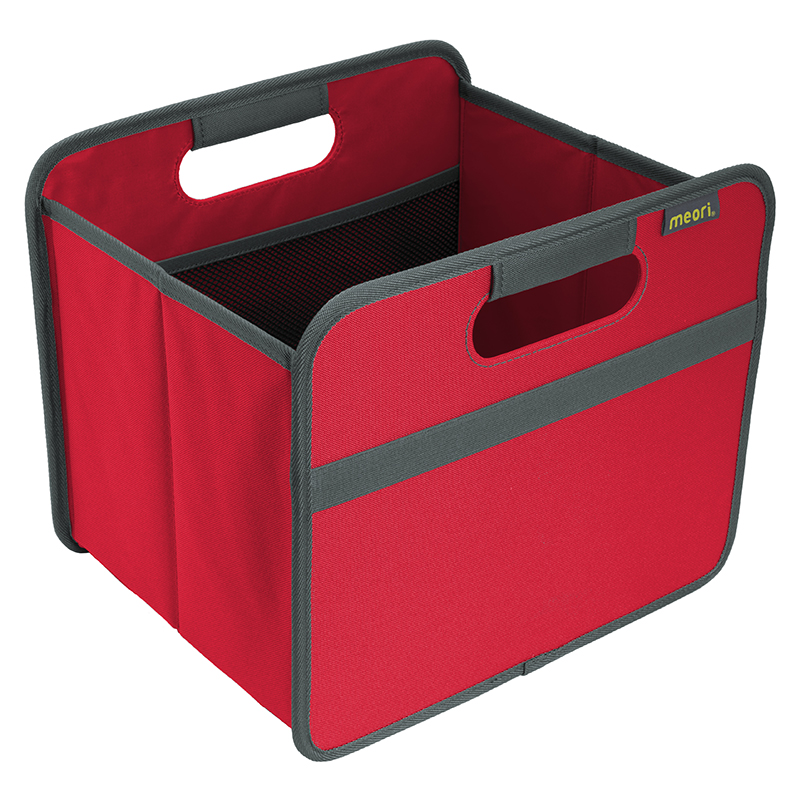 Foldable Box Small Hibiscus Red