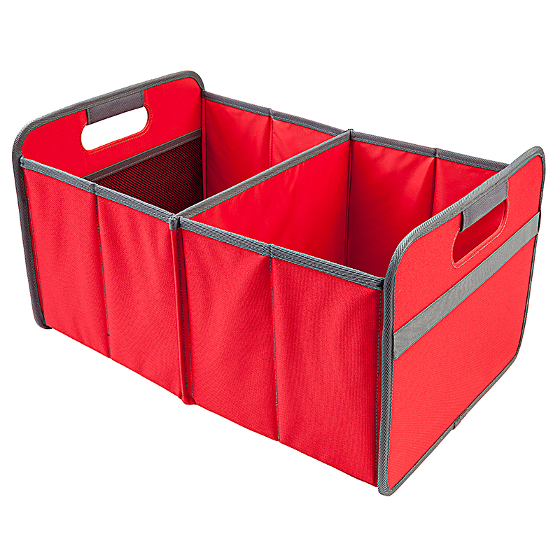 Foldable Box Large Hibiscus Red