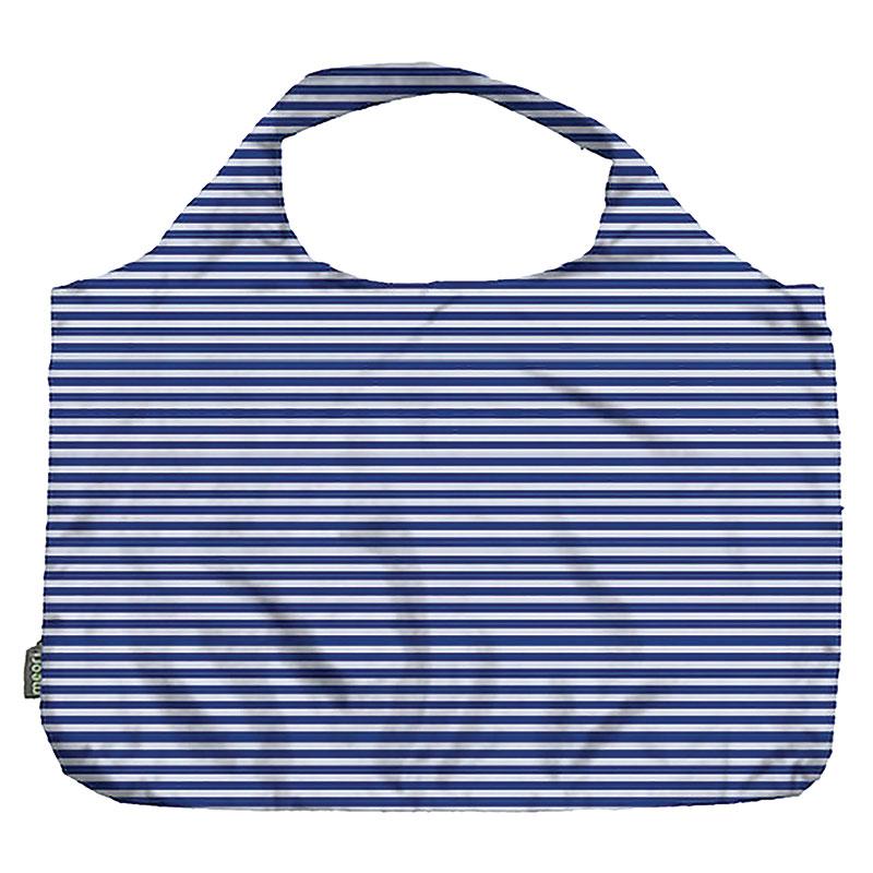 Pocket Shopper Blue Pinstripe