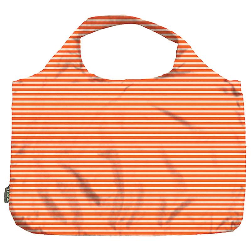 Pocket Shopper Orange Pinstripe