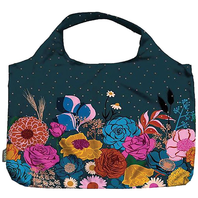 Pocket Shopper Navy Shine Bag