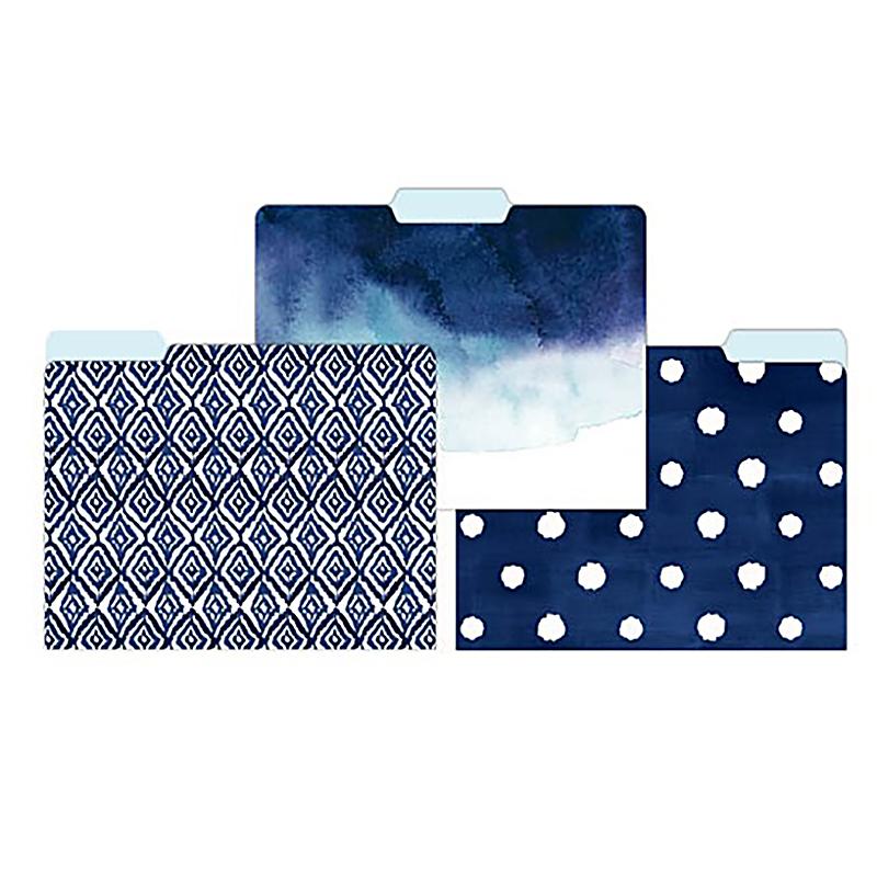 File Folder 15ct Indigo Blues