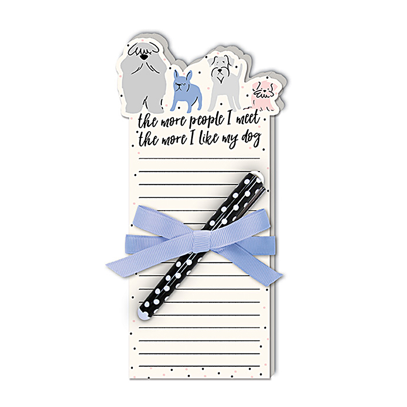 Notepad w/Pen Dog People