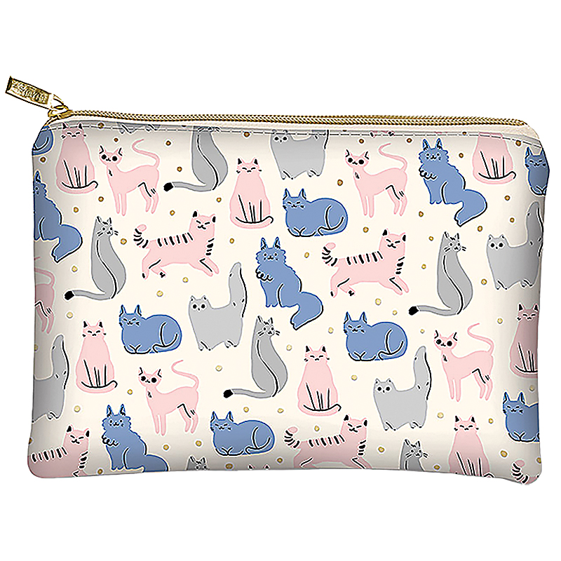 Glam Bag Sketched Cats designed by Lady Jane