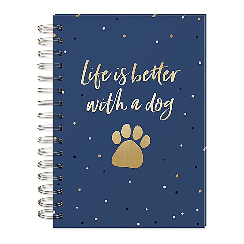 Wire O Journal Life Better Dog