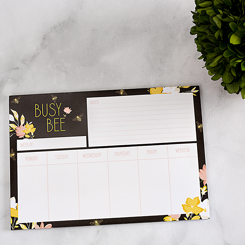 Notepad Busy Bee