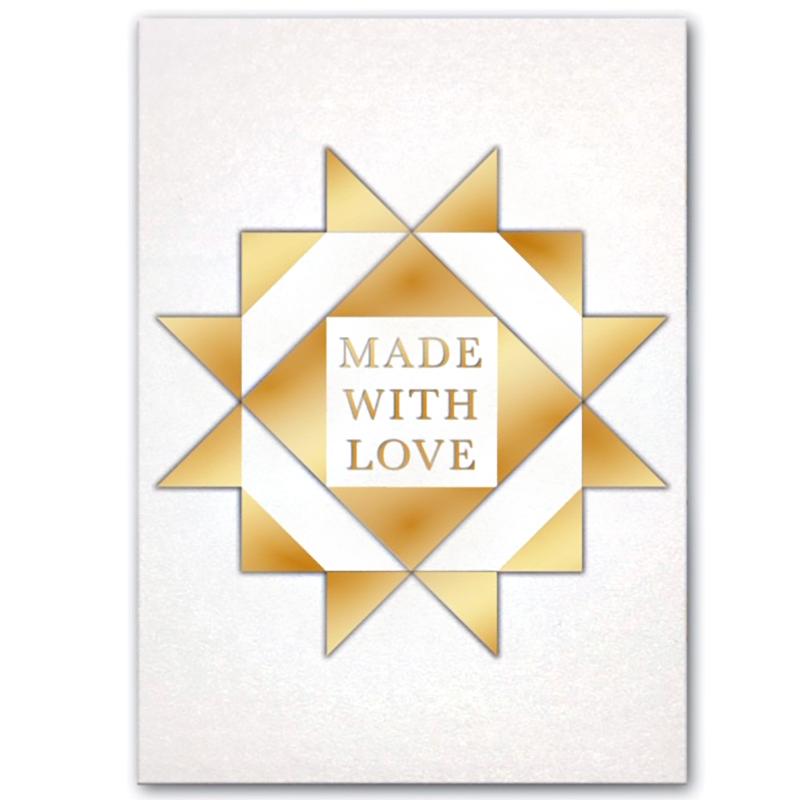 Card Made W/Love Block