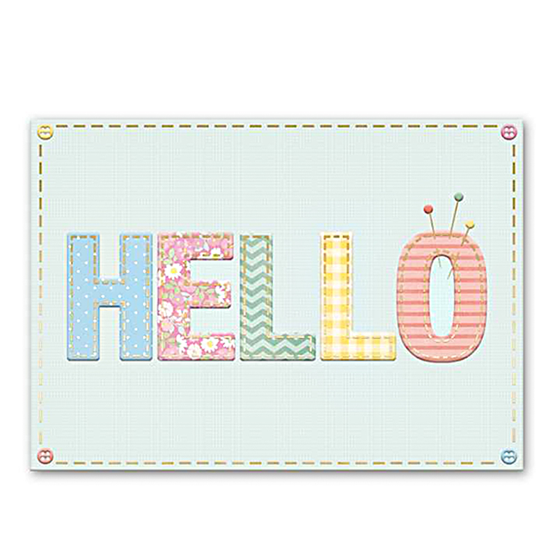 Greeting Card Hello