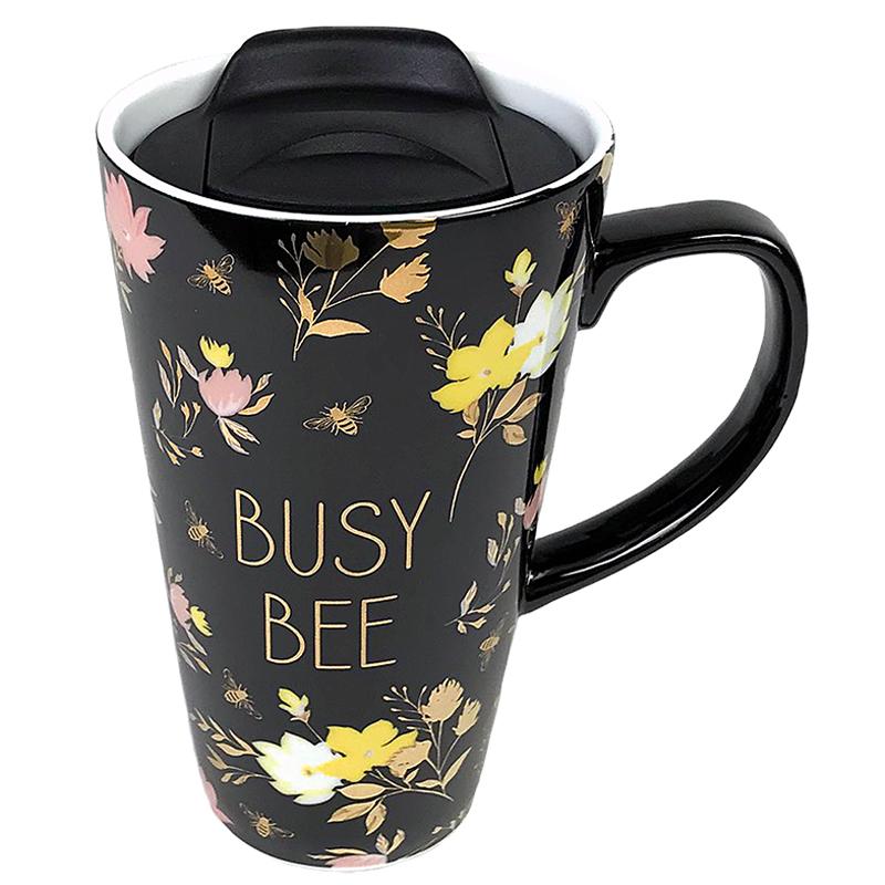 Travel Mug Busy Bee