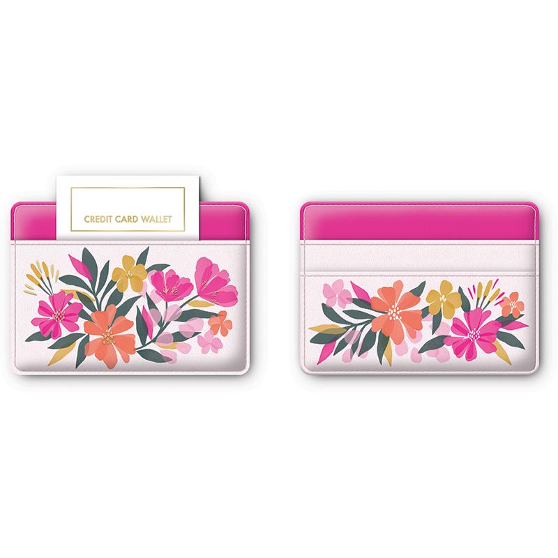 Sunlit Credit Card Case Garden