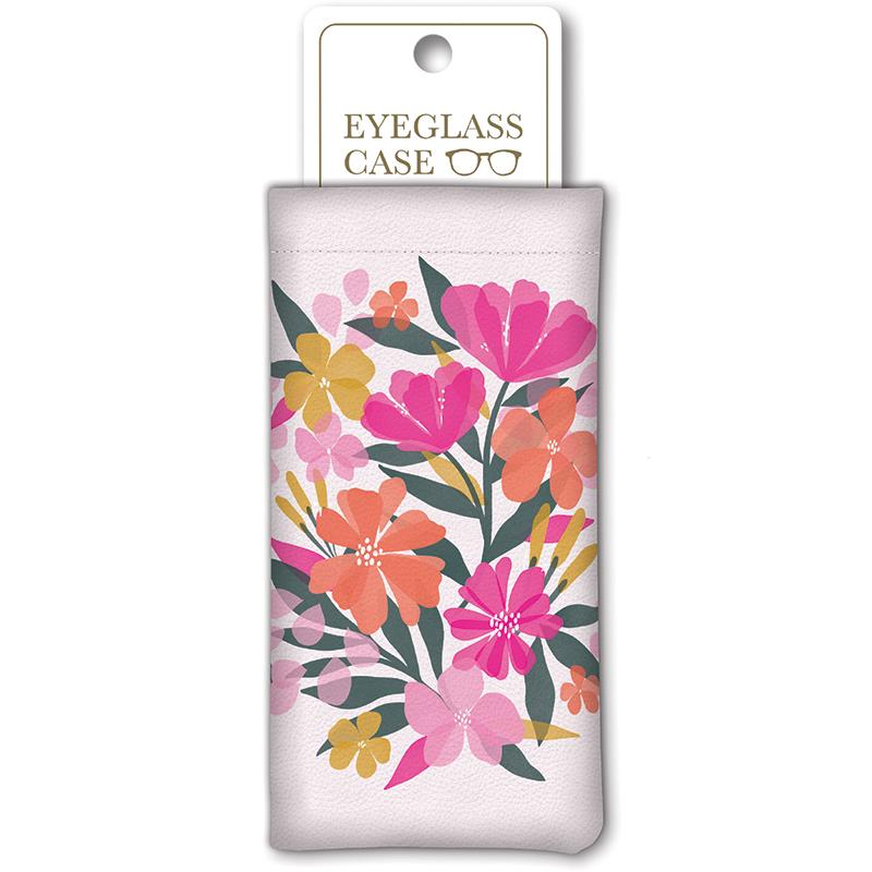 Sunlit Eye Glass Case Garden