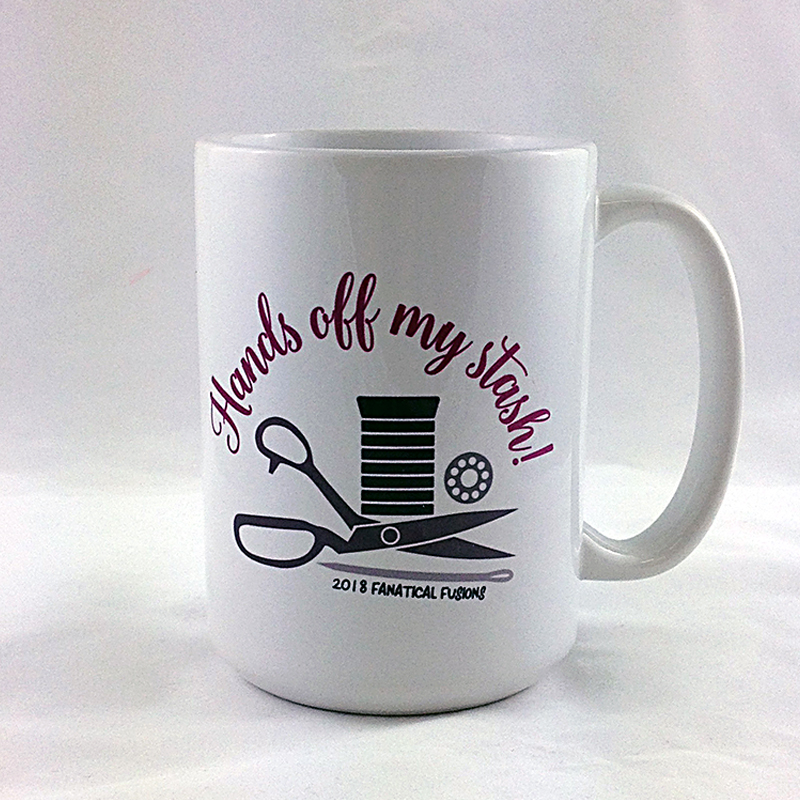 Hands Off My Stash Mug 15oz
