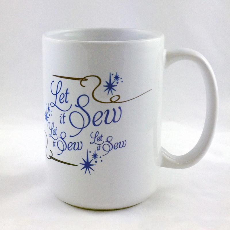 Mug - Let It Sew, Let It Sew