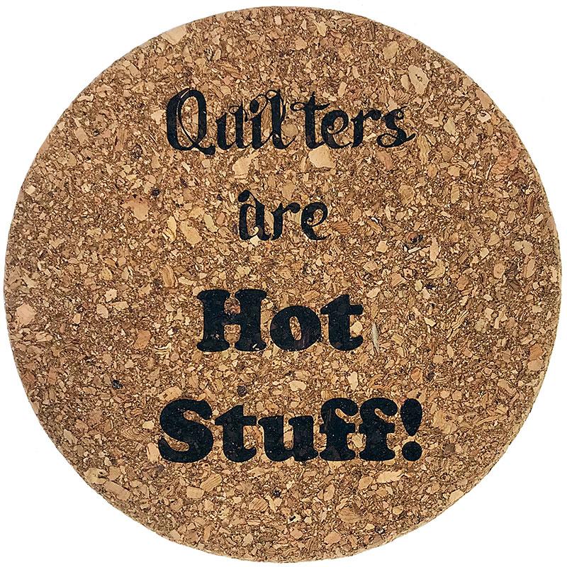 Cork Trivet Qltrs Are Hot Stuff
