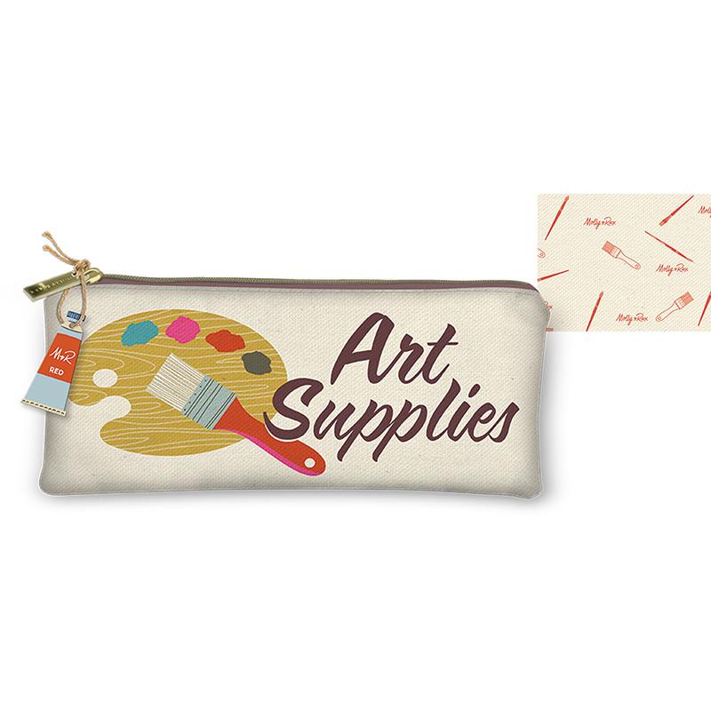 Canvas Utility Bag Art Supplies