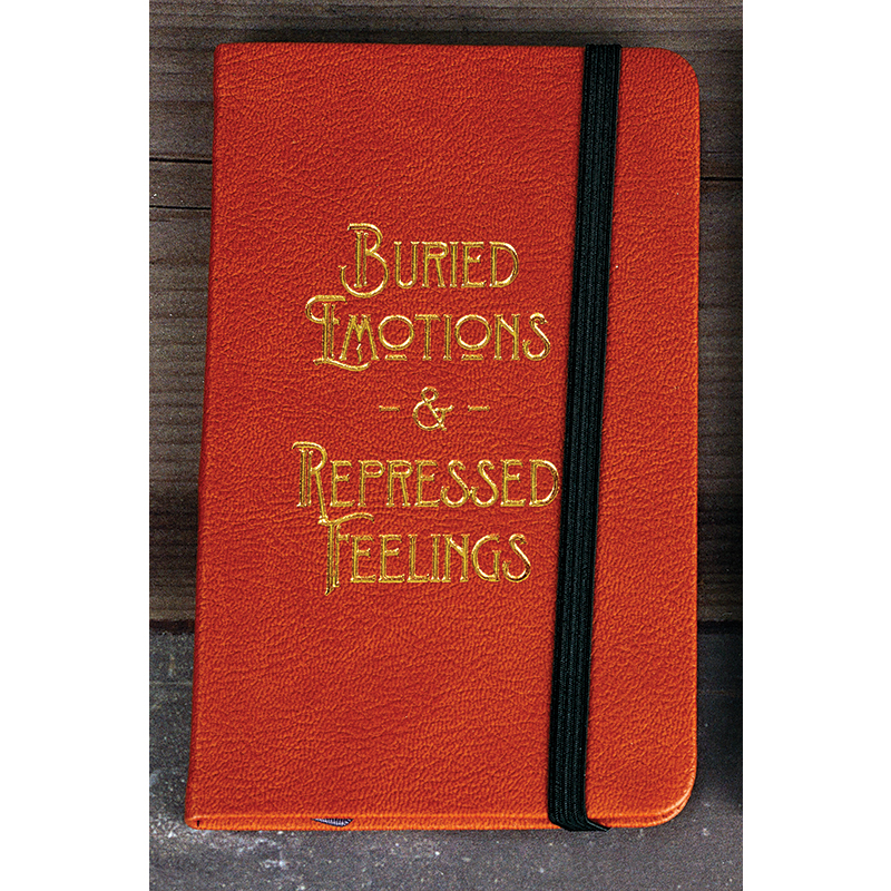 Bungee Journal Buried Emotions