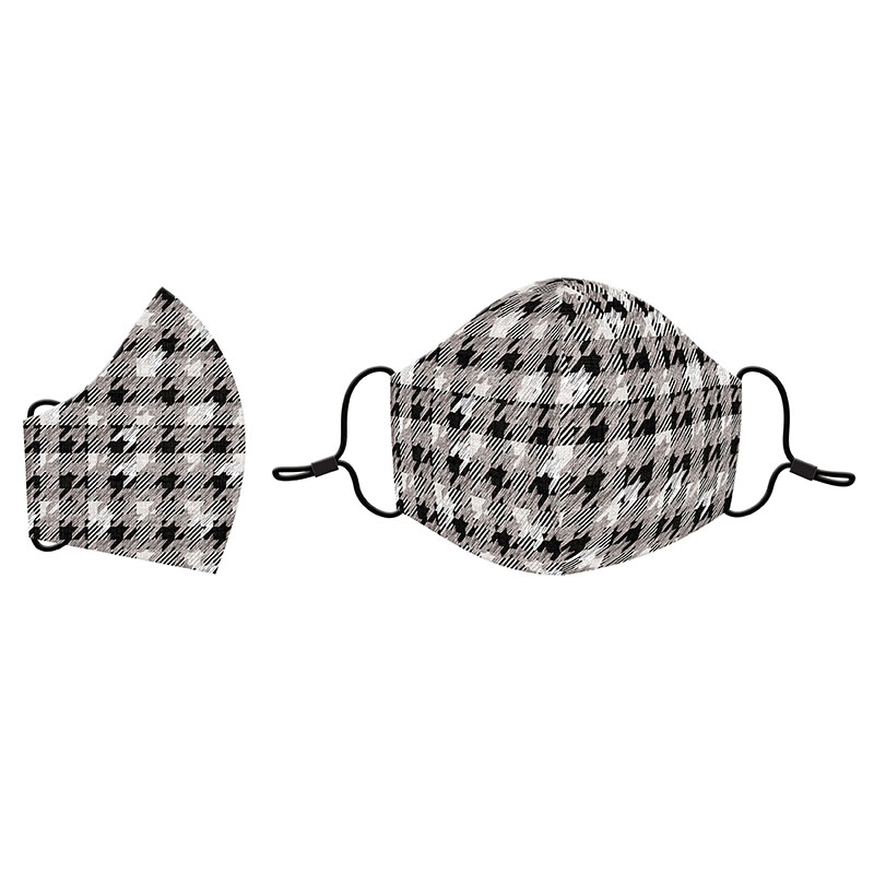 Cotton Face Mask HoundsTooth