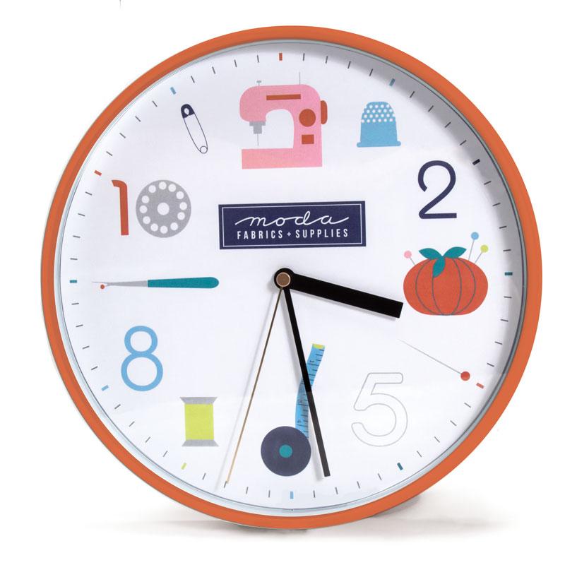 Wall Clock Sewing Icons