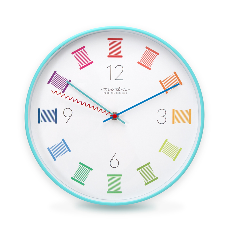 12 Sewing Wall Clock