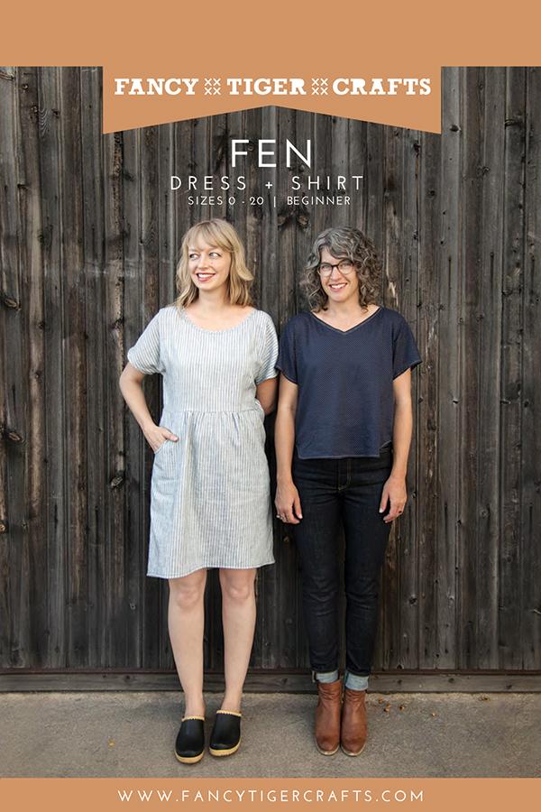 Pattern Fen Dress and Shirt - Fancy Tiger Crafts