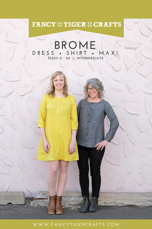 Pattern Brome Dress and Shirt - Fancy Tiger Crafts