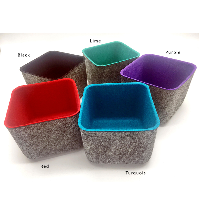 Turquoise Storage Bin Small