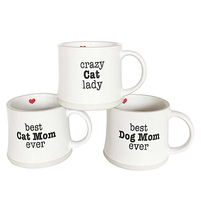 Mug 17oz Best Dog/Cat & Crazy