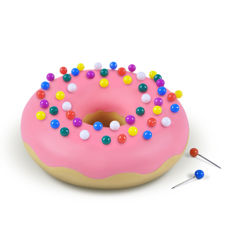 Fred PushPins Desk Donut