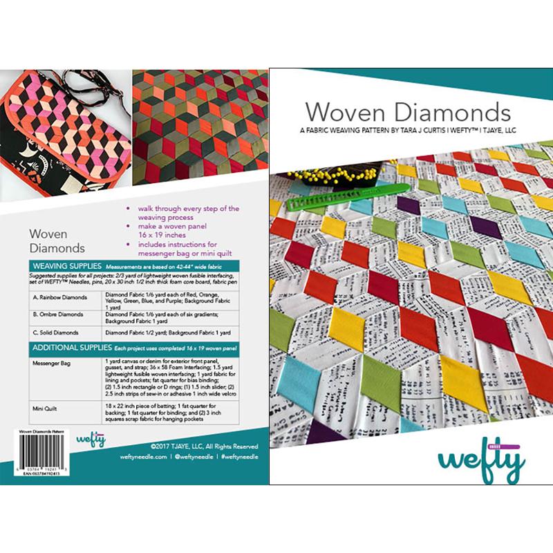 Woven Diamonds-Pattern