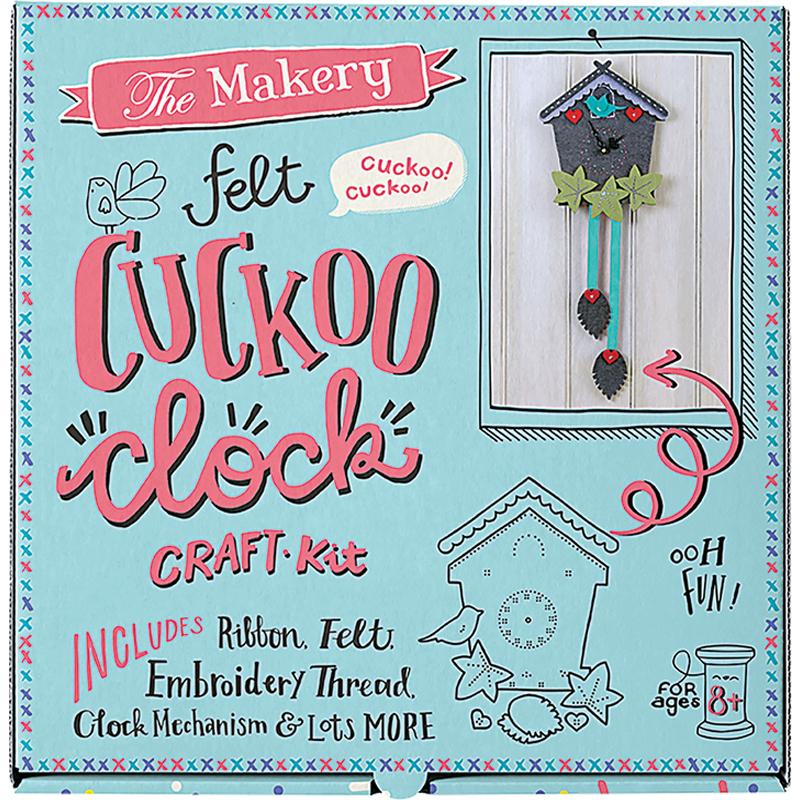 Kit Cuckoo Clock Craft Kit MAKE 011