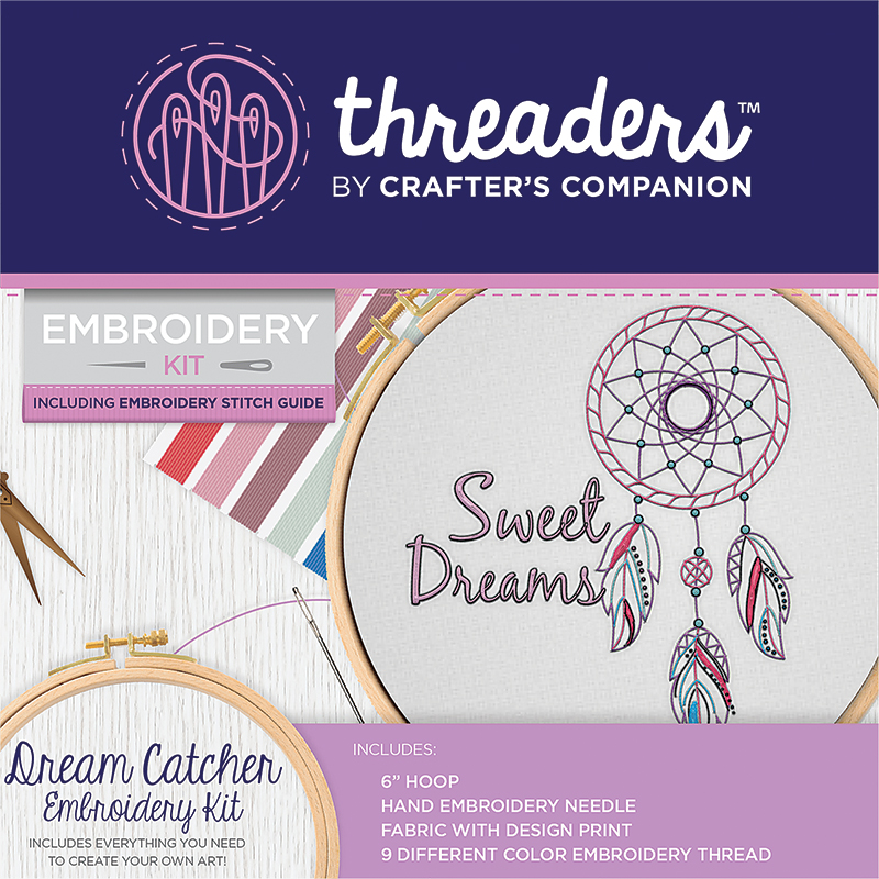 Embroidery Kit Dream Catcher