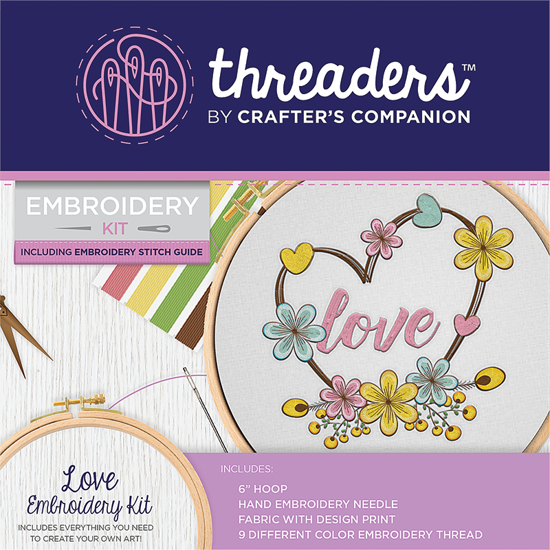 Embroidery Kit Love