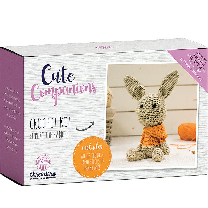 Crochet Kit Rupert The Rabbit