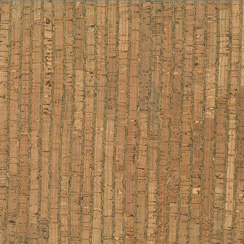 Cork Fabric Natural/Wide Pattern 18 x 15