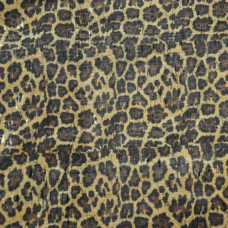 Cork Fabric 18x15 Leopard