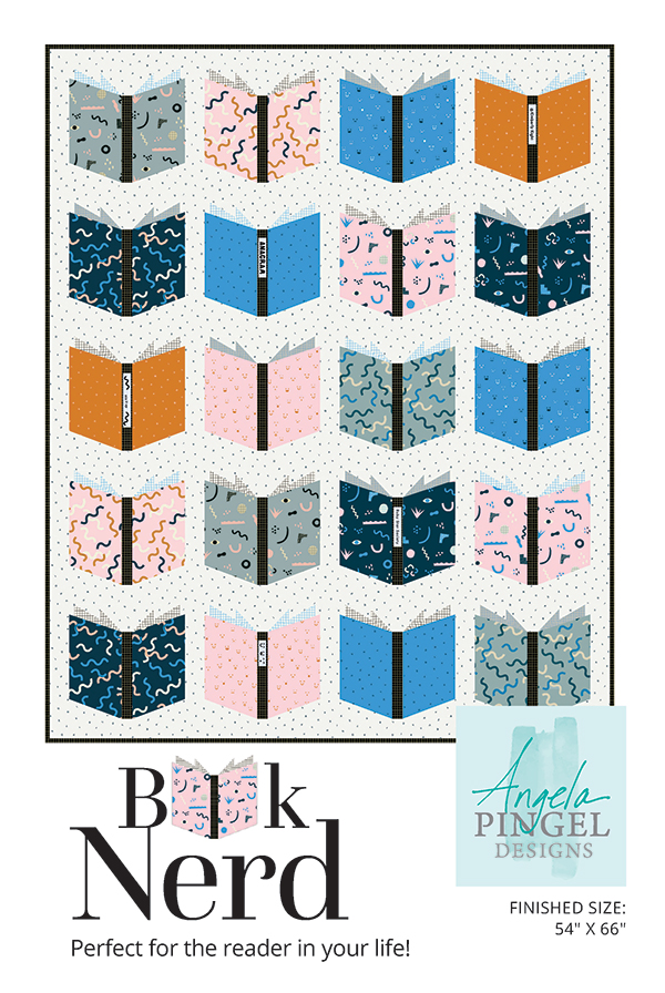 Book Nerd Pattern by Angela Pingel