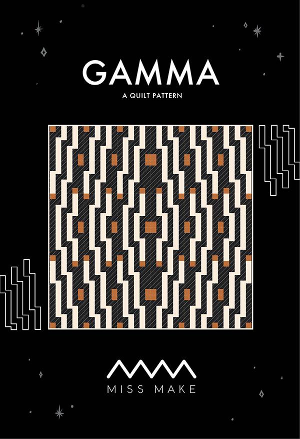Gamma Quilt Pattern by Miss Make