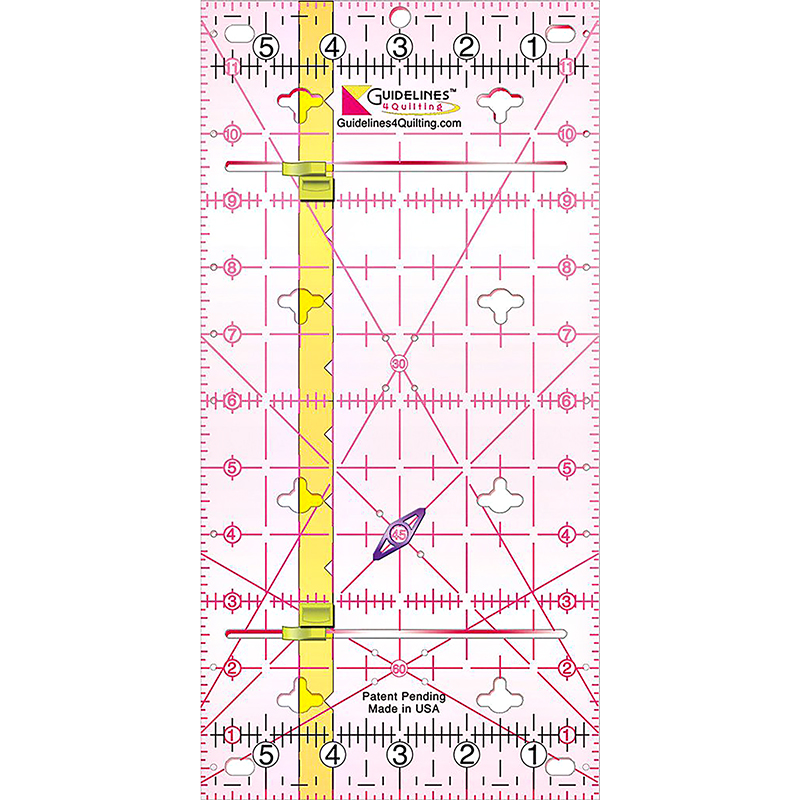 Guidelines Ruler 6 x 12