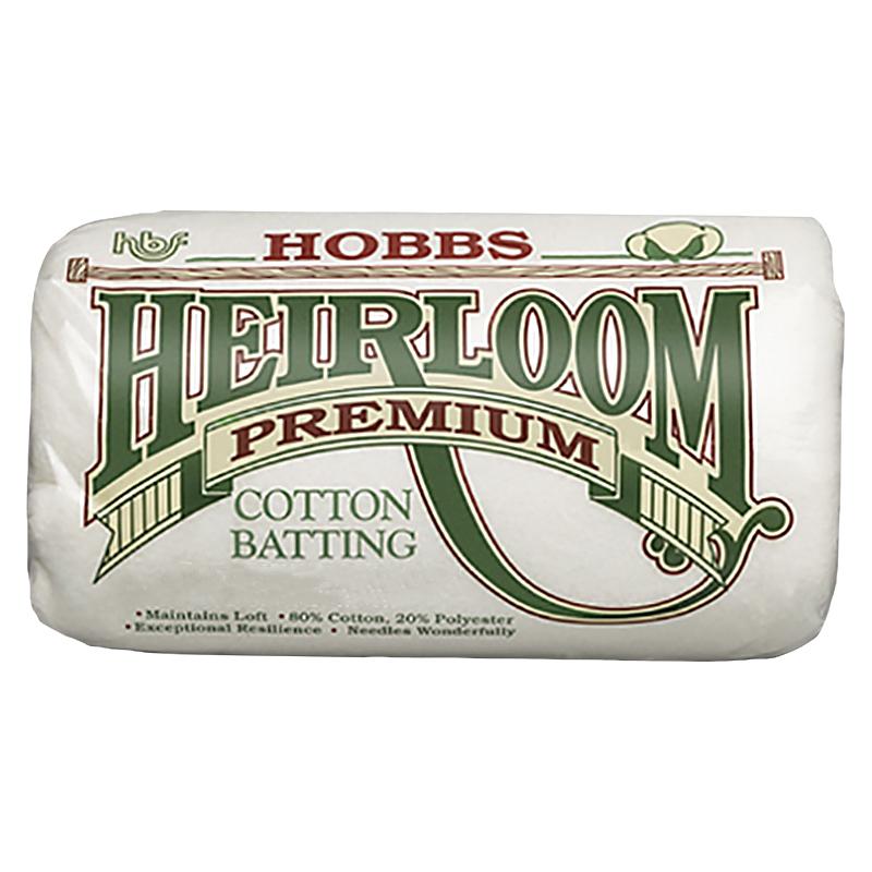 Hobbs Heirloom Batting 80/20 - Queen 90 x 108