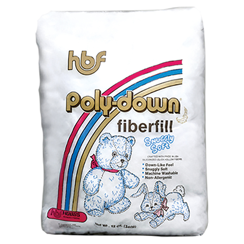 Poly Down Fiberfill 12oz